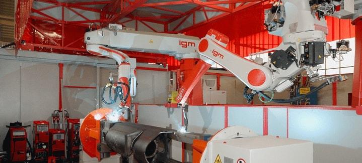 IGM robotic