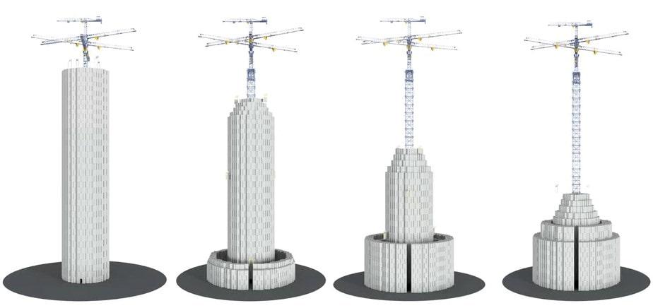 Beton Bloklardan Elektrik Üretimi