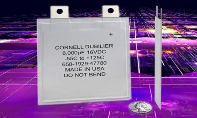 Ultra İnce Polimer Alüminyum Elektrolitik Kondansatör