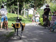 Robot Spot Singapur