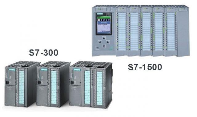 Siemens S7-300 ile S7-1500