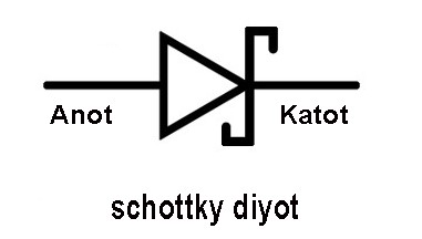 Schottky diyot
