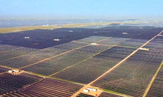 Çin'in En Büyük Solar Depolama Projesi