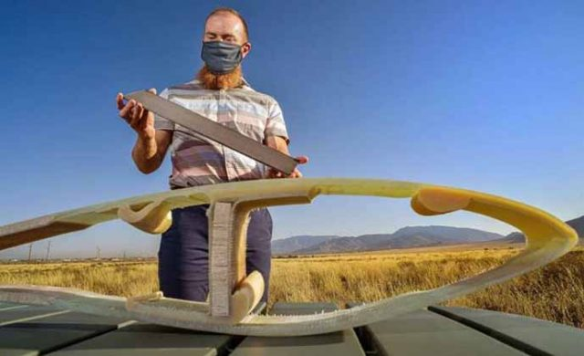 Karbon fiber içeren rüzgâr kanatları