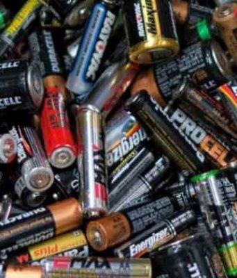 atık kullanılmış piller