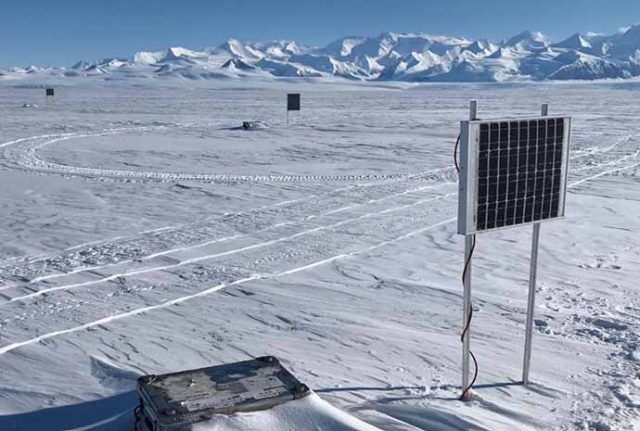 Fiber Optik Kablo, Antarktika'da Mikrosismisiteyi İzliyor