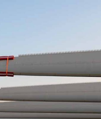 geri dönüştürülebilir rüzgar türbini kanatları