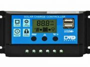 Zauss 30A Dijital Solar Şarj Akü Kontrol Cihazı